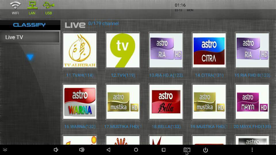 MYIPTV-IPTV FOR ANDROID