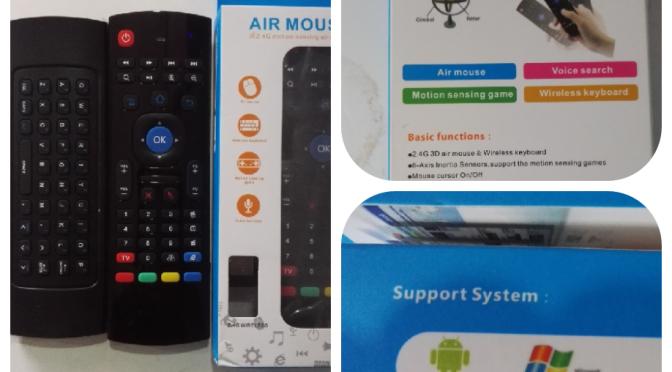 MX3 Air Remote